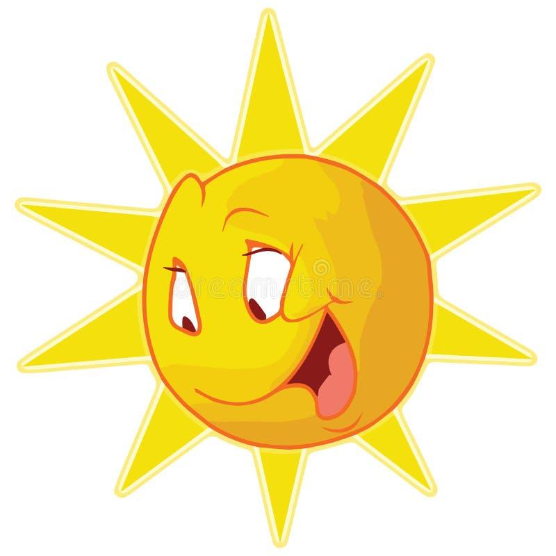 O Sun alegre imagens de stock royalty free