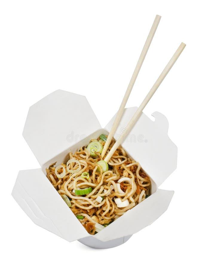 O sushi leva embora o alimento foto de stock