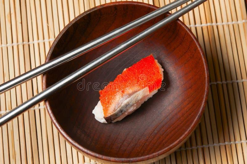 Download Sushi Salmon foto de stock. Imagem de shrimp, japonês - 29827890