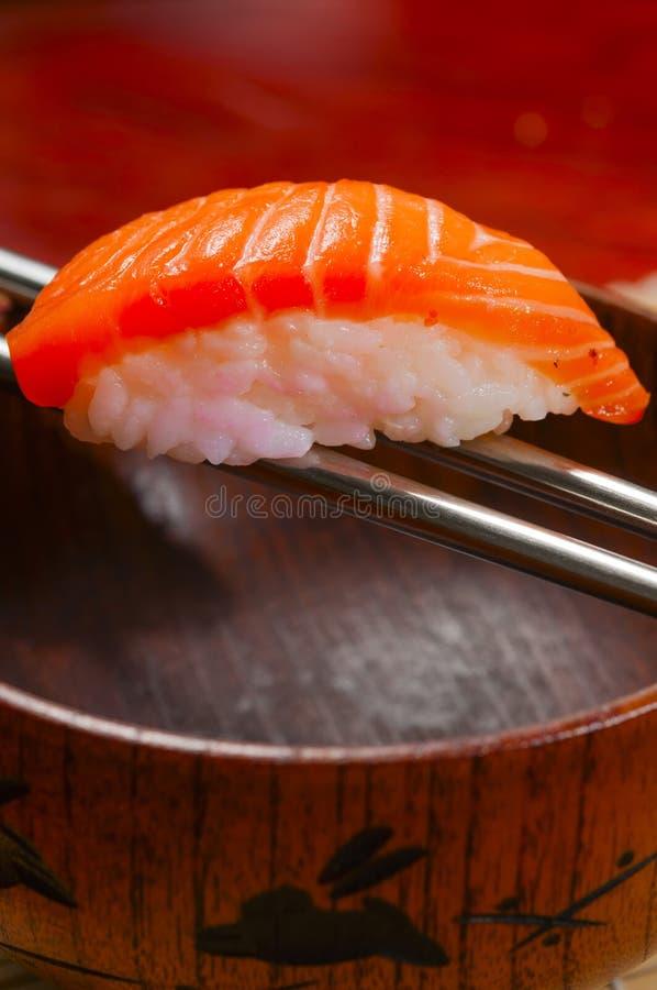 Download Sushi Salmon imagem de stock. Imagem de combo, ginger - 29828149