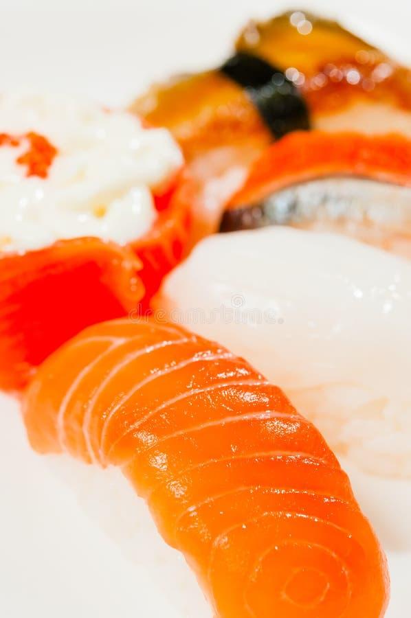 Download Sushi Salmon foto de stock. Imagem de arroz, cuisine - 29837788