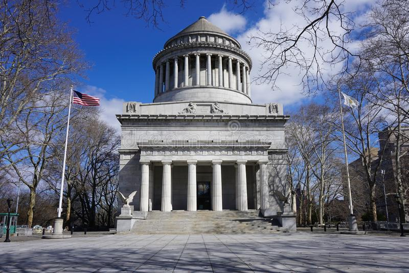 O túmulo de Grant - general Grant National Memorial em New York City fotografia de stock royalty free
