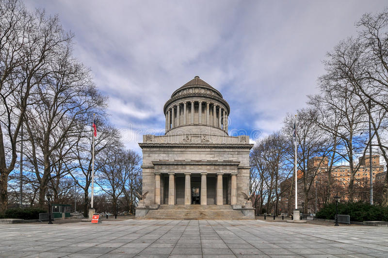O túmulo de Grant - New York City fotografia de stock royalty free