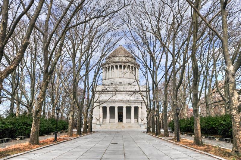 O túmulo de Grant - New York City fotografia de stock