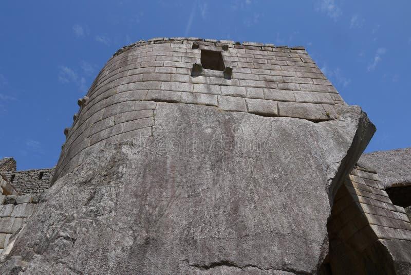 O túmulo real Machu Picchu imagem de stock royalty free