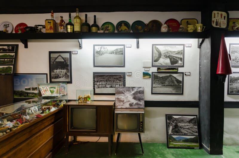O túnel do tempo é museu da recordação de Malaysia's primeiro Localizado em Brinchang imagem de stock royalty free
