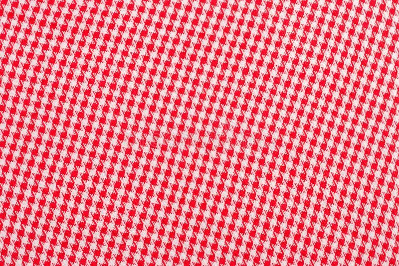O tablecloth checkered imagem de stock