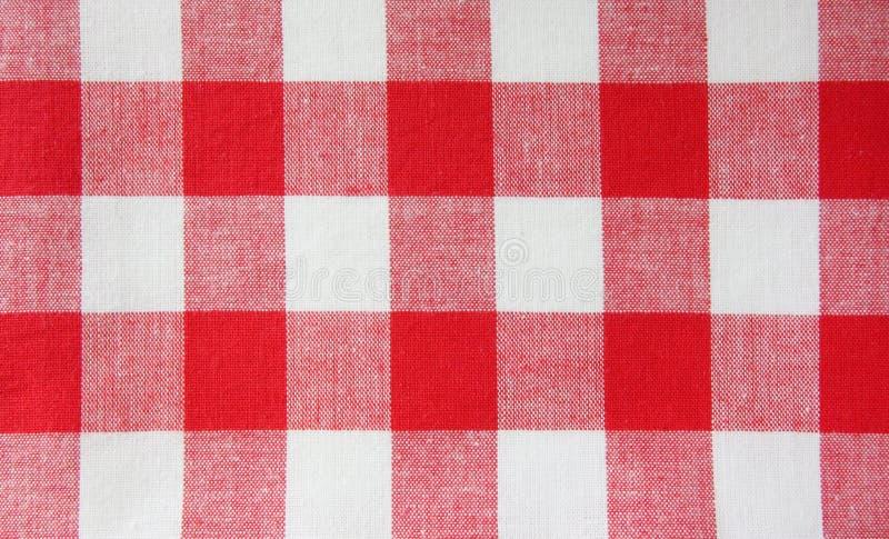 O tablecloth checkered fotos de stock royalty free