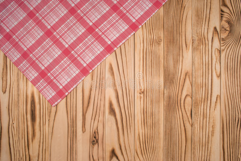 O tablecloth checkered foto de stock royalty free