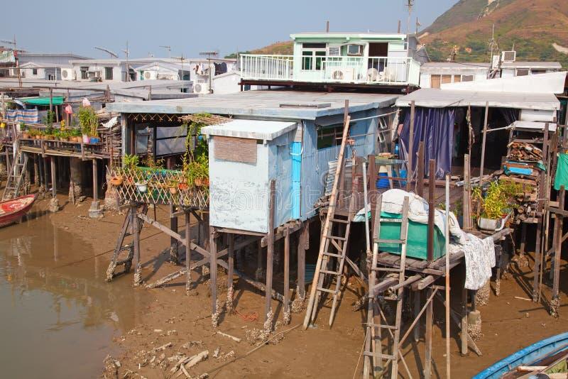 O Tai Village foto de archivo