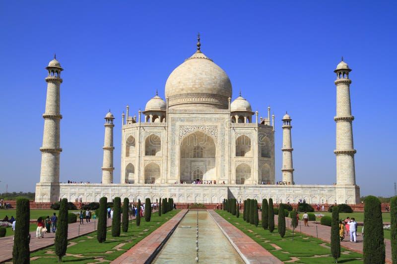 O Taj Mahal fotografia de stock royalty free