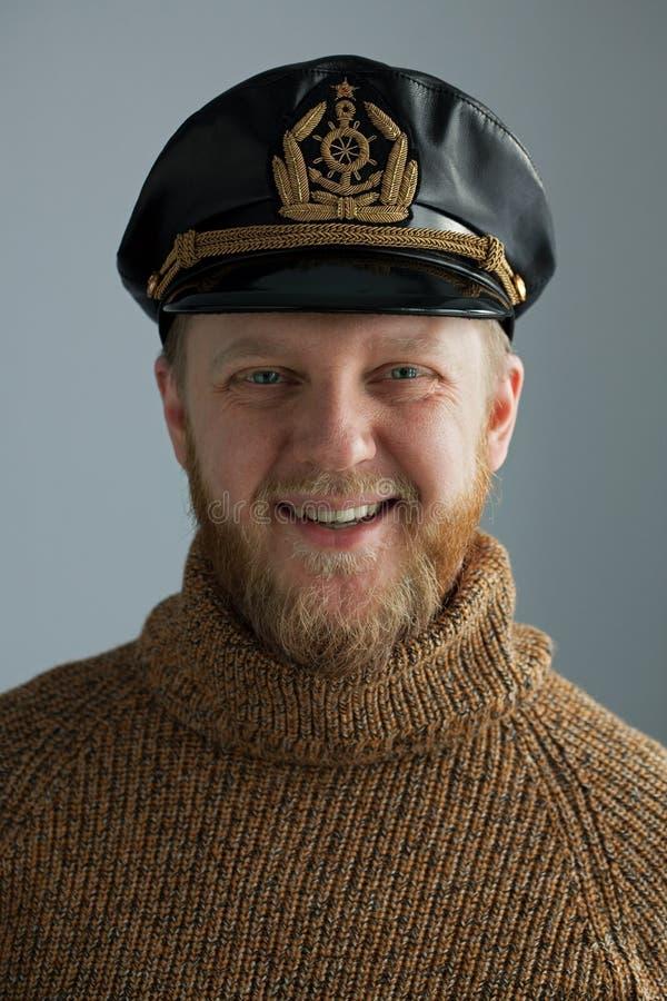 O tampão do marinheiro novo imagem de stock