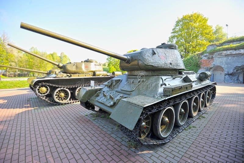 O tanque legendário da segunda guerra mundial foto de stock royalty free
