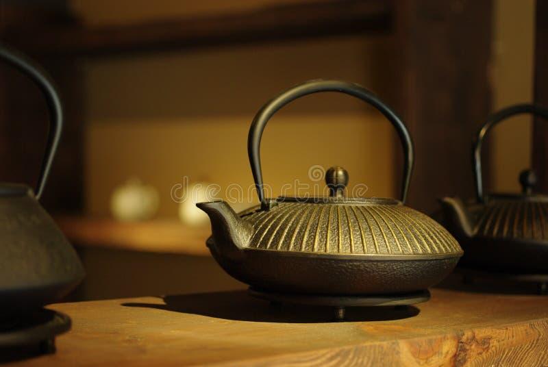 O teapot tradicional chinês fotografia de stock royalty free
