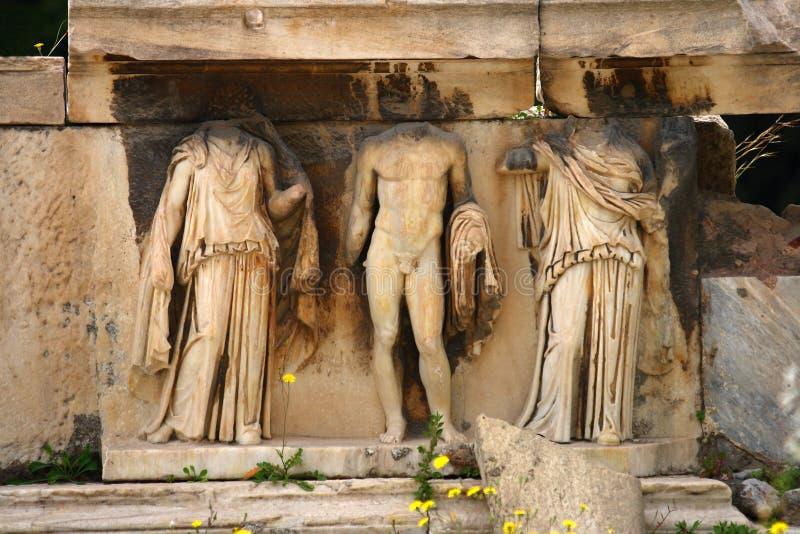 O teatro de Dionysus fotografia de stock