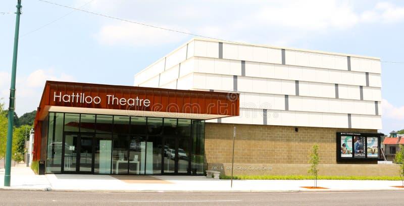 O teatro de Hattiloo, Memphis Tennessee imagem de stock royalty free