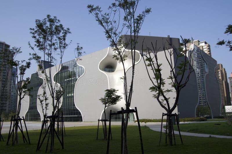 O teatro nacional de Taichung foto de stock