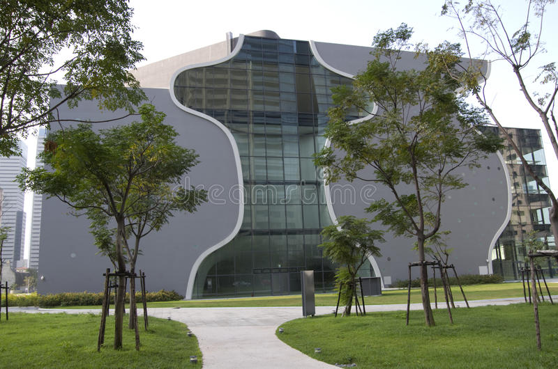 O teatro nacional de Taichung imagens de stock royalty free