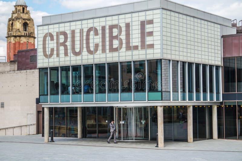 O teatro Sheffield do cadinho fotografia de stock royalty free