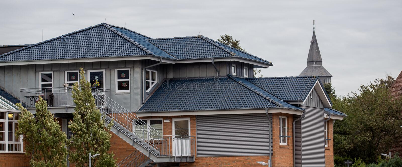 O telhado fotografia de stock royalty free