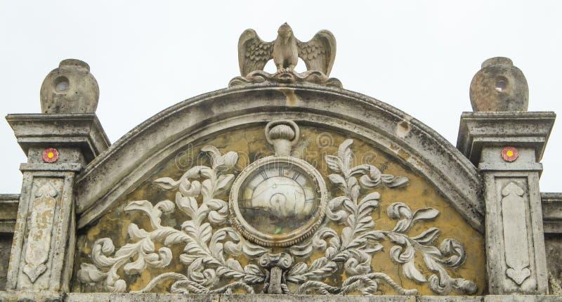 O telhado velho imagem de stock royalty free
