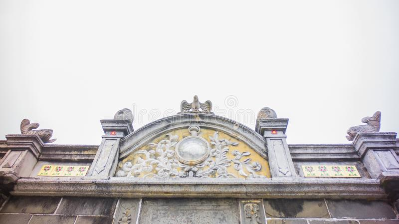 O telhado velho fotos de stock royalty free