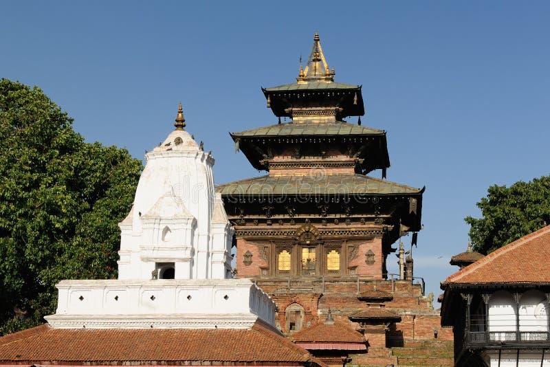 O templo budista em Kathmandu, Nepal fotos de stock royalty free