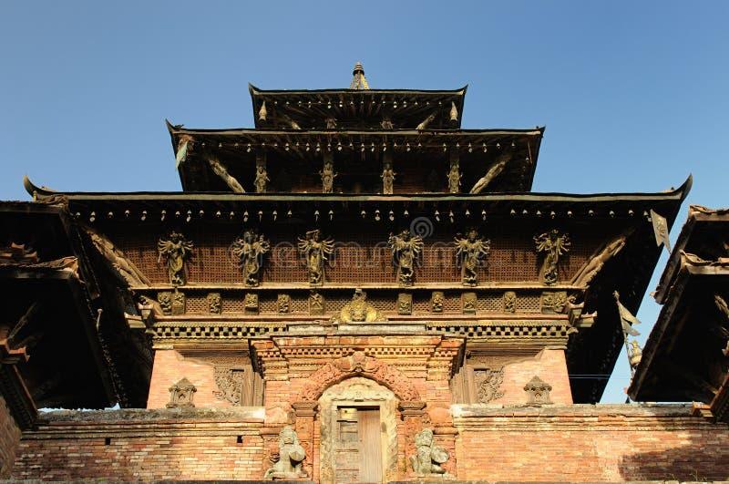 O templo budista em Kathmandu, Nepal fotos de stock