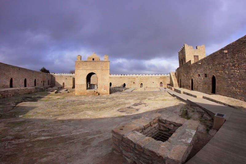 O templo de Ateshgah em Azerbaijão imagem de stock