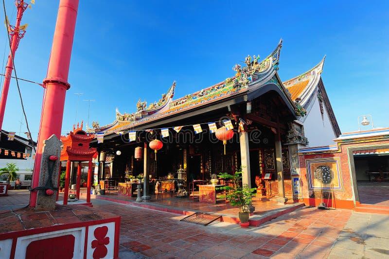 O templo de Cheng Hoon Teng imagem de stock