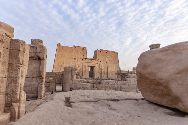O templo de Edfu imagens de stock