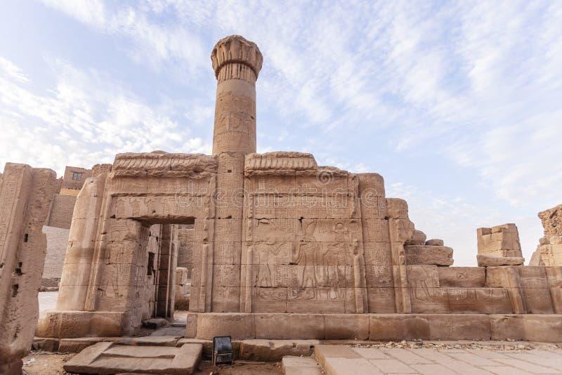 O templo de Edfu fotografia de stock royalty free