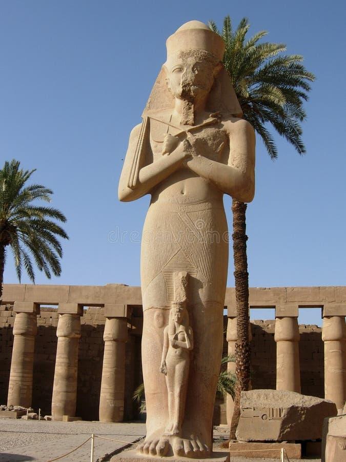 O templo de Karnak, Luxor, Egito fotos de stock