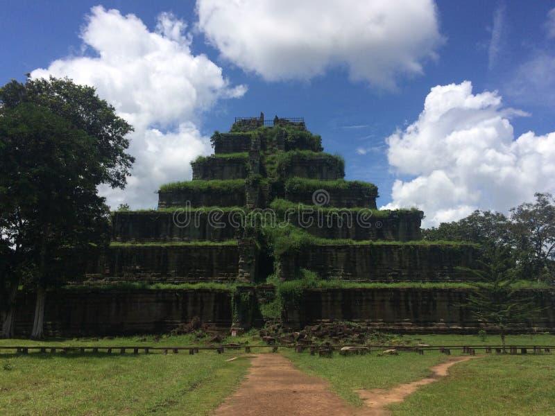 O templo de Prasat Thom imagens de stock
