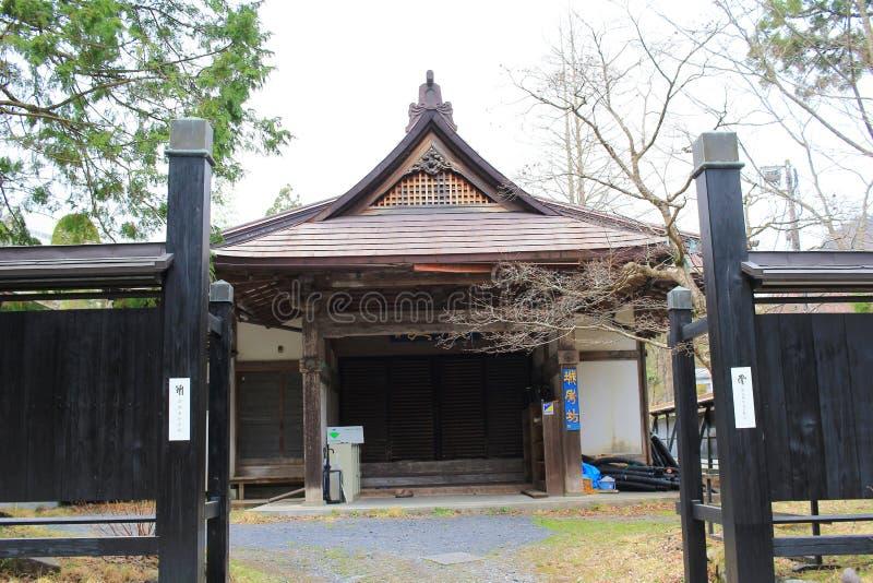 o templo de Rinnoji em Nikko fotos de stock royalty free