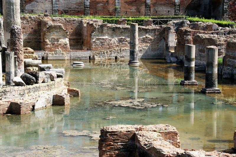 O templo de Serapide imagem de stock royalty free