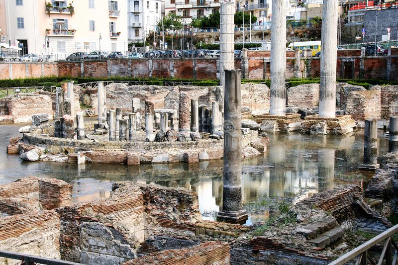 O templo de Serapide imagem de stock