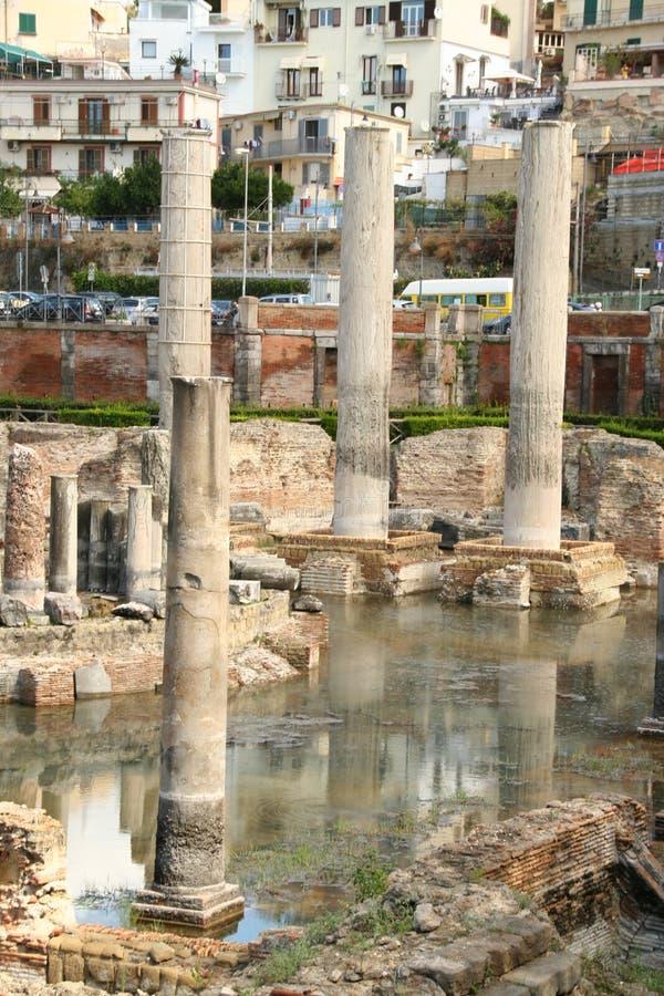 O templo de Serapide fotografia de stock