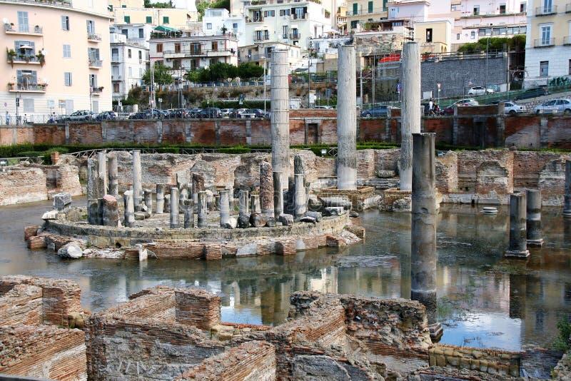 O templo de Serapide fotos de stock royalty free