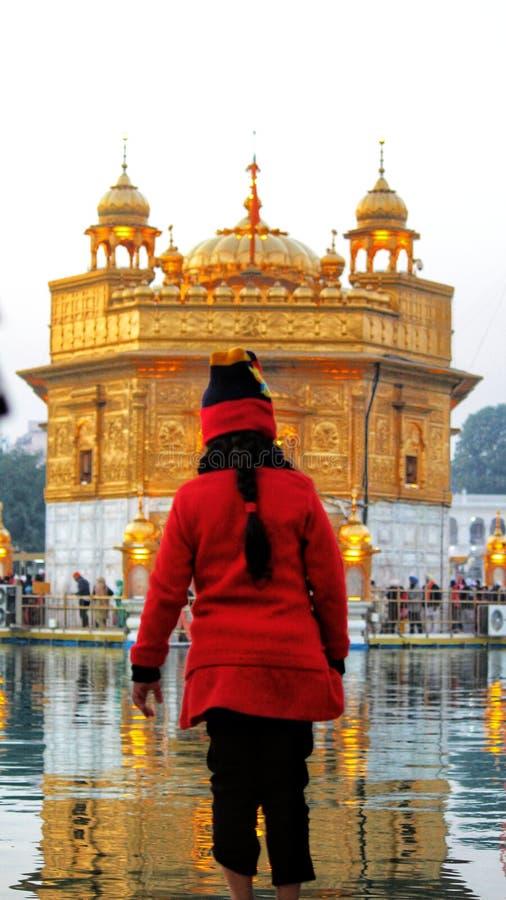 O templo dourado fotos de stock royalty free