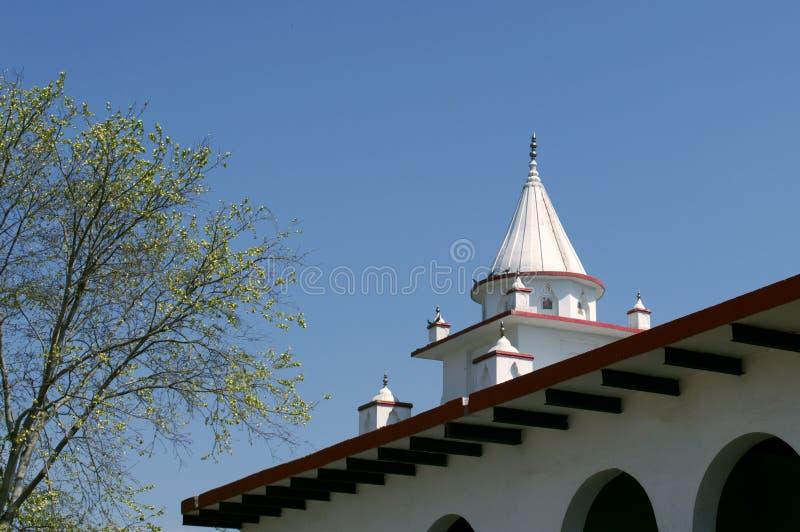 O templo Hindu fotos de stock