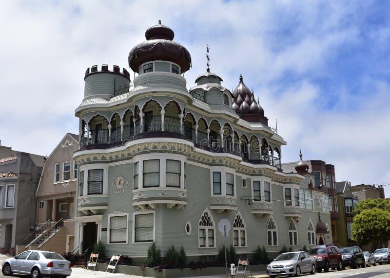O templo hindu o mais velho no mundo ocidental, templo velho San Francisco, 2 fotografia de stock royalty free