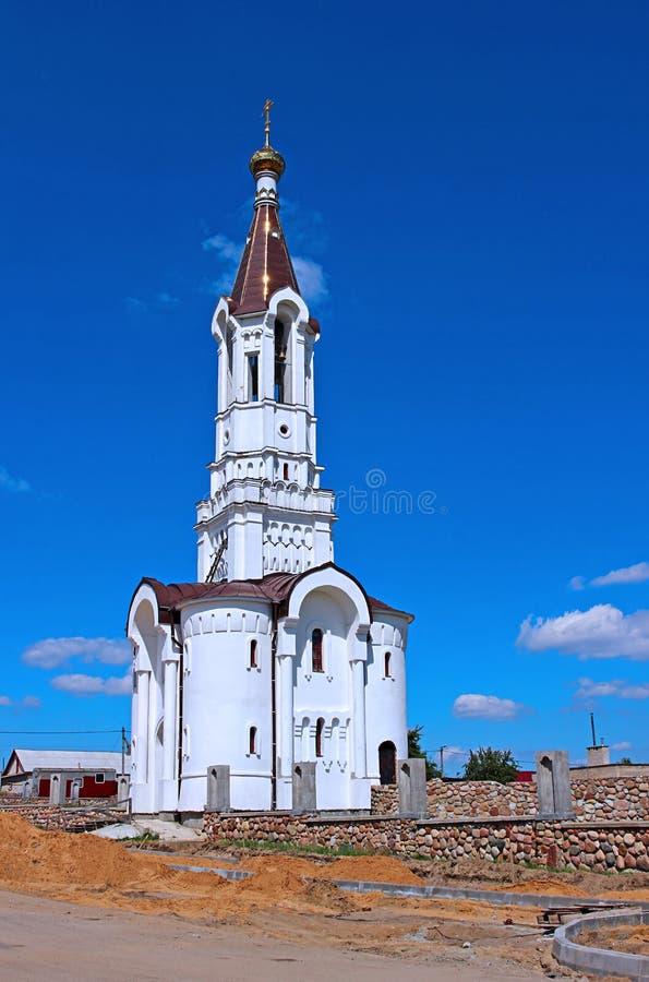 O templo na mãe de reino da honra do deus em Ivantsevichi imagens de stock royalty free