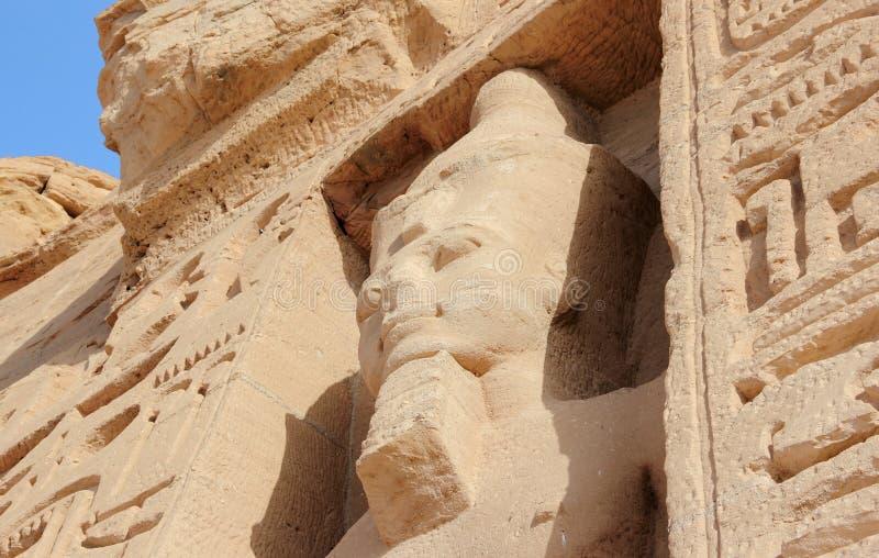 O templo pequeno de Nefertari Abu Simbel, Egipto imagem de stock