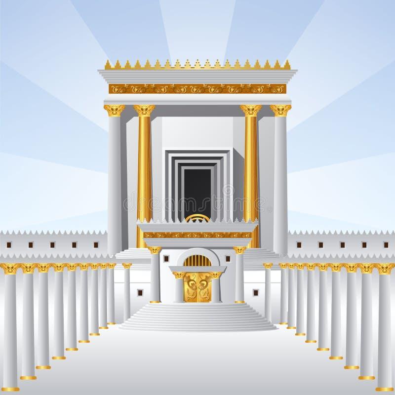 O templo santamente imagens de stock