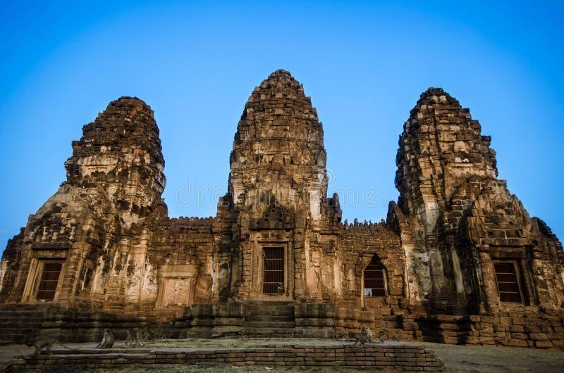O templo velho imagens de stock