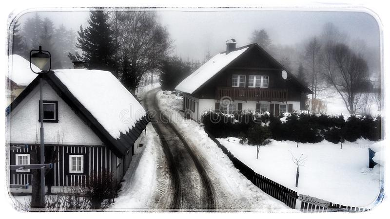 O tempo de inverno imagem de stock royalty free
