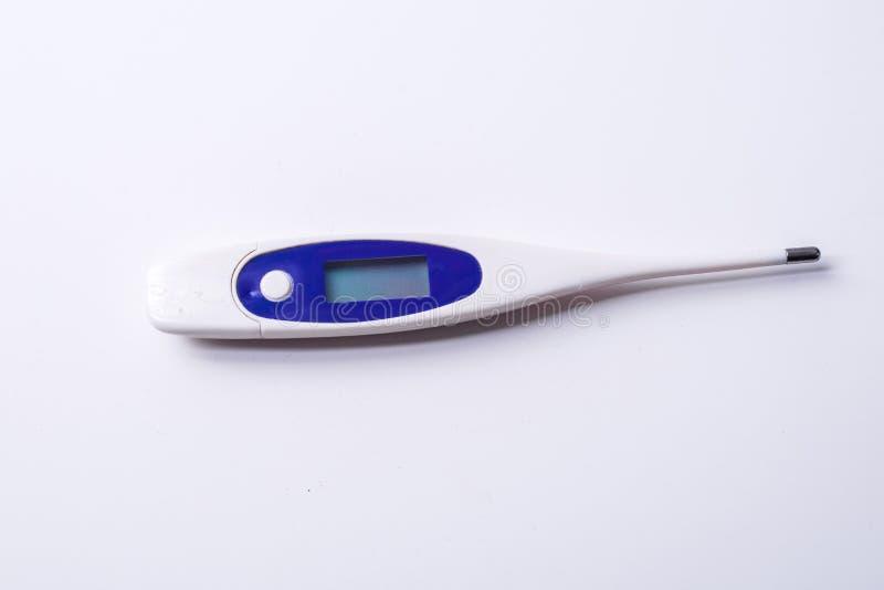 O termômetro imagens de stock