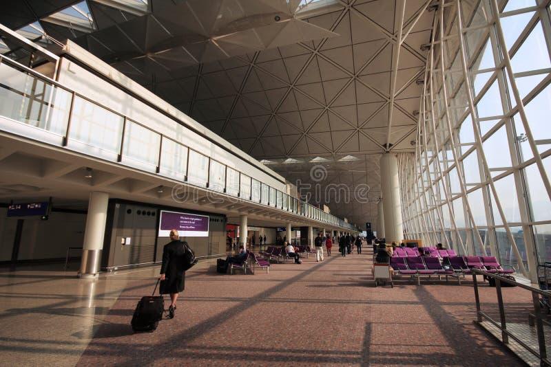 O terminal 3 fotos de stock royalty free