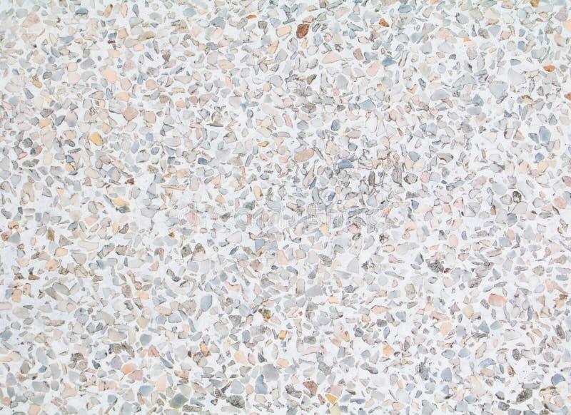 O terraço que pavimentam a textura velha ou o fundo de pedra lustrado com o espaço da cópia adicionam o texto foto de stock royalty free